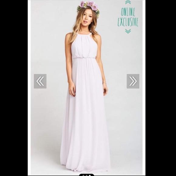 Show Me Your MuMu Dresses & Skirts - Amanda Maxi Dress 🌸 in Lavender Chiffon